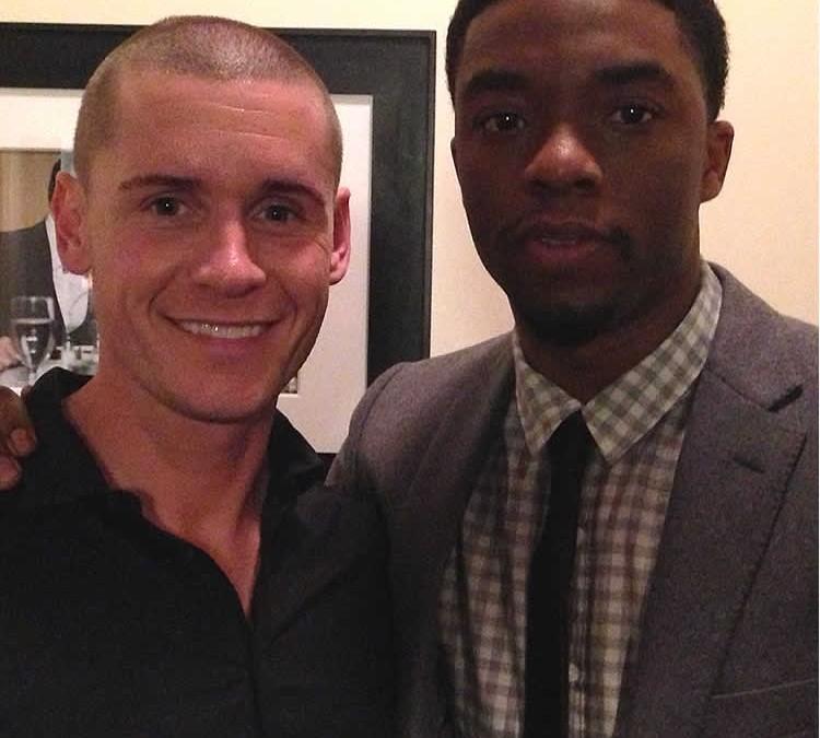 Linc Hand and Chad Boseman
